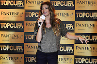 RIO DE JANEIRO-05/06/2012- A Top Model Gisele Bundchen no lancamento do TOPCUFA Brasil 2012 no Museu de Arte Moderna, Centro do Rio.Foto:Marcelo Fonseca-Brazil Photo Press