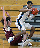 Milford at Waterford Mott, Boys Varsity Basketball, 1/19/18