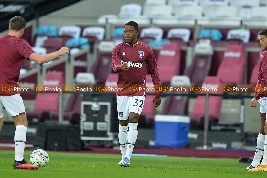 Xande Silva of West Ham United during West Ham United vs Charlton Athletic, Caraboa Cup Football at The London Stadium on 15th September 2020