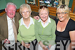 Enjoying the Match in The Ballymac Bar were the 1955 Kerry Goalkeeper Gary O'Mahony, Sophie O'Mahony, Boherbue, Rita O'Connell, Oakpark and Martina Keane, Caheranne................................................. ............   Copyright Kerry's Eye 2008