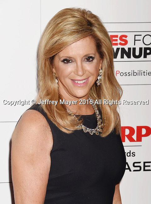 BEVERLY HILLS, CA - FEBRUARY 08: Inventor Joy Mangano attends AARP's Movie For GrownUps Awards at the Regent Beverly Wilshire Four Seasons Hotel on February 8, 2016 in Beverly Hills, California.