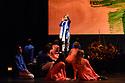 Mark Morris Dance Group and Silkroad Ensemble present LAYLA AND MAJNUN, in its UK premiere, at Sadler's Wells.  Dancers are: Sam Black, Mica Bernas, Karlie Budge, Durell R Comedy, Brandon Cournay, Domingo Estrada Jr, Lesley Garrison, Lauren Grant, Sarah Haarmann, Deepa Liegel, Aaron Loux, Laurel Lynch, Dallas McMurray, Minga Prather, Nicole Sabella, Brandon Randolph, Billy Smith,  Noah Vinson, Christina Sahaida. Musicians are: Alim Qasimov (Mugham Singer), Fargana Qasimova (Mugham Singer), Rauf Islamov (Kamancheh player), Zaki Valiyev (Tar player).