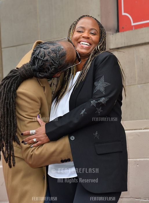 LOS ANGELES, CA. November 19, 2018: Snoop Dogg &amp; Shante Taylor at the Hollywood Walk of Fame Star Ceremony honoring Snoop Dogg.<br /> Pictures: Paul Smith/Featureflash