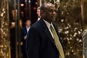 Lockheed Martin Senior Vice President Leo S. Mackay, Jr. is seen in the lobby of Trump Tower in New York, NY, USA on January 3, 2017. <br /> Credit: Albin Lohr-Jones / Pool via CNP
