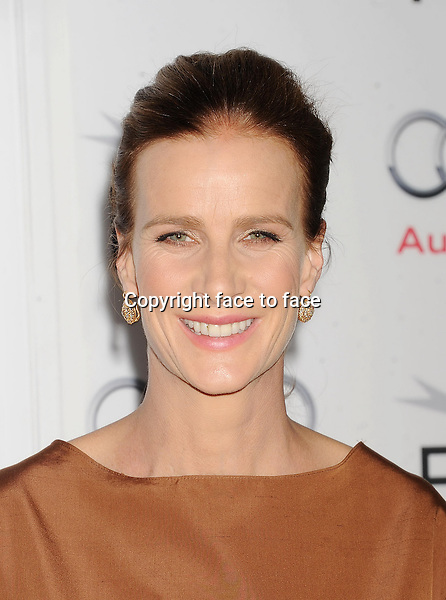 HOLLYWOOD, CA- NOVEMBER 07: Actress Rachel Griffiths arrives at AFI FEST 2013 Opening Night Gala premiere of 'Saving Mr. Banks' at TCL Chinese Theatre on November 7, 2013 in Hollywood, California.<br /> Credit: Mayer/face to face<br /> - No Rights for USA, Canada and France -