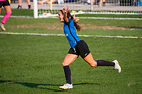 Kansas City, MO - Wednesday August 16, 2017: Shea Groom during a regular season National Women's Soccer League (NWSL) match between FC Kansas City and Sky Blue FC at Children's Mercy Victory Field.