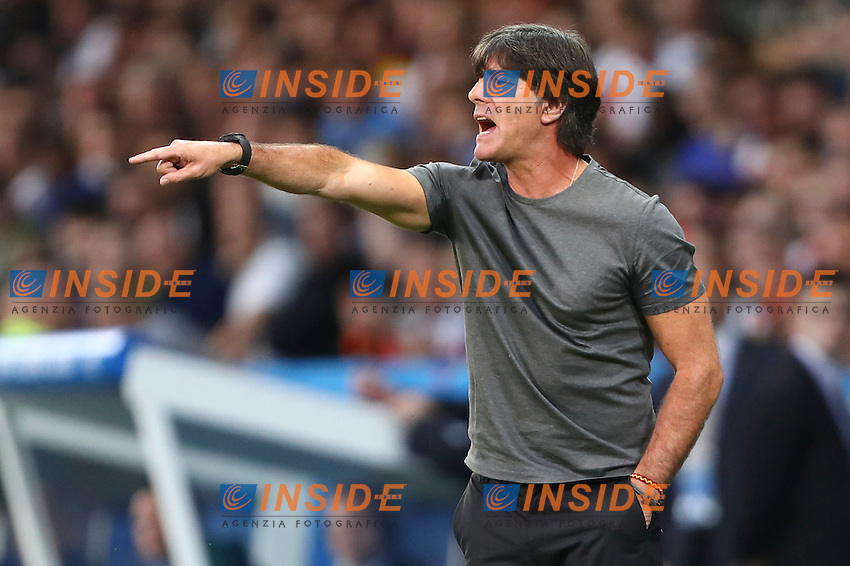 Joachim Low ( coach Germany ) <br /> Lille 12-06-2016 Stade Pierre Mauroy Football Euro2016 Germany - Ukraine / Germania - Ucraina Group Stage Group C. Foto Gwendoline Le Goff / Panoramic / Insidefoto