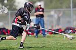 Corona Del Mar, CA 04/06/10 - Matti Ruetman (Danville/Monte Vista #28) in action during the Corona Del Mar-Danville/Monte Vista lacrosse game.
