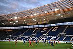 Spielszene in der leeren PreZero Arena.<br /> <br /> Sport: Fussball: 1. Bundesliga: Saison 19/20: 28. Spieltag: TSG 1899 Hoffenheim - 1. FC Koeln, 27.05.2020<br /> <br /> Foto: Markus Gilliar/GES/POOL/PIX-Sportfotos.<br /> <br /> Nur für journalistische Zwecke! Only for editorial use!<br /> <br /> Gemäß den Vorgaben der DFL Deutsche Fußball Liga ist es untersagt, in dem Stadion und/oder vom Spiel angefertigte Fotoaufnahmen in Form von Sequenzbildern und/oder videoähnlichen Fotostrecken zu verwerten bzw. verwerten zu lassen. DFL regulations prohibit any use of photographs as image sequences and/or quasi-video.