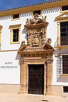 Archäologisches Museum in Lorca,  Provinz Murcia, Spanien, Europa