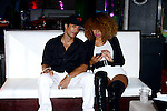 HOLLYWOOD, FL - NOVEMBER 13: Aisha Thalia and YNIQ attend Urban Mystic performing live with a Bigg D. live band at Hollywood Live at Hollywood Live on Thursday November 13, 2014 in Coral Gables, Florida. (Photo by Johnny Louis/jlnphotography.com)