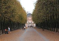 General views of the Hofgarten, Düsseldorf, Nord Rhein-Westphalia, Germany on 16.10.18.
