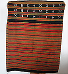 ANTIQUE BEADED VIETNAM SAPA SKIRT WITH BEADED WEAVING