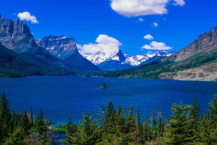 Wild Goose Island, Saint Mary Lake, Glacier National Park, Montana