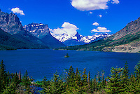 Wild Goose Island, Saint Mary Lake, Glacier National Park, Montana