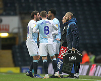 Blackburn Rovers Joe Nuttall replaces Blackburn Rovers Danny Graham<br /> <br /> Photographer Mick Walker/CameraSport<br /> <br /> The EFL Sky Bet Championship - Blackburn Rovers v Ipswich Town - Saturday 19 January 2019 - Ewood Park - Blackburn<br /> <br /> World Copyright &copy; 2019 CameraSport. All rights reserved. 43 Linden Ave. Countesthorpe. Leicester. England. LE8 5PG - Tel: +44 (0) 116 277 4147 - admin@camerasport.com - www.camerasport.com