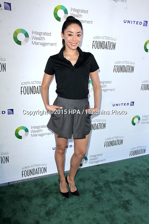 LOS ANGELES - JUN 8:  Aimee Garcia at the SAG Foundation's 30TH Anniversary LA Golf Classi at the Lakeside Golf Club on June 8, 2015 in Toluca Lake, CA