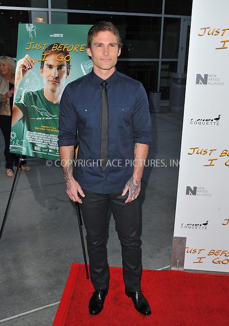 WWW.ACEPIXS.COM<br /> <br /> April 20 2015, LA<br /> <br /> Seann William Scott arriving at the Los Angeles special screening of 'Just Before I Go' at the ArcLight Hollywood on April 20, 2015 in Hollywood, California.<br /> <br /> By Line: Peter West/ACE Pictures<br /> <br /> <br /> ACE Pictures, Inc.<br /> tel: 646 769 0430<br /> Email: info@acepixs.com<br /> www.acepixs.com