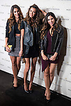 "Daniela Ospina (L), Joana Sanz (C) and Melissa Jimenez attends to the photocall of the party ""OpenTheNow of Moët & Chandon in Madrid, December 02, 2015<br /> (ALTERPHOTOS/BorjaB.Hojas)"