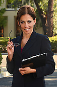Stock photo of Hispanic Business Woman
