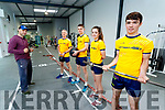 The Pierse Family from Listowel who took part in Irelands Fittest Family Oran (20), Ciaran (18), Cliona (15) and Riobard (49) pictured with their trainer Trevor Horan pictured at Listowel Community Centre Gym on Sunday.