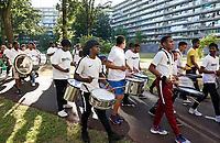 Nederland Amsterdam -  juli 2018.    Amsterdam viert 50 jaar Bijlmer. De SouthEast Parade. Deze parade wordt georganiseerd om de diversiteit van Amsterdam Zuidoost te laten zien.    Foto mag niet in negatieve context gepubliceerd worden.     Foto Berlinda van Dam /  Hollandse Hoogte