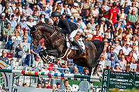 BEL-Jerome Guery rides Quel Homme De Hus during the Rolex Grand Prix of Aachen - Round 2. 2019 GER-CHIO Aachen Weltfest des Pferdesports. Sunday 21 July. Copyright Photo: Libby Law Photography