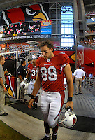 Oct. 16, 2006; Glendale, AZ, USA; Arizona Cardinals tight end (89) Adam Bergeb against the Chicago Bears at University of Phoenix Stadium in Glendale, AZ. Mandatory Credit: Mark J. Rebilas