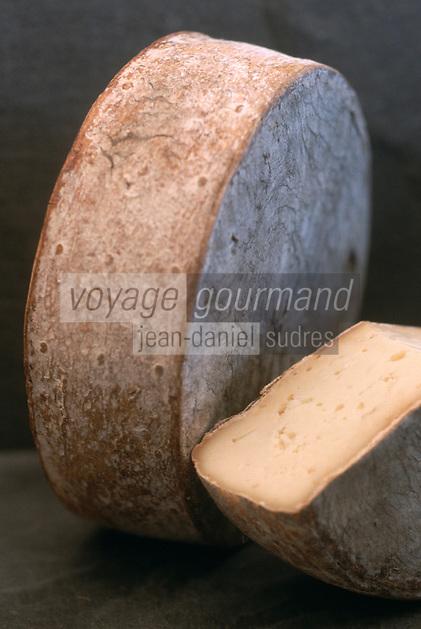 """Europe/France/Rhône-Alpes/74/Haute-Savoie/Morzine: Tomme de Montagne Fromage de """"L'Alpage"""" La Fruitiére de Morzine"""""""