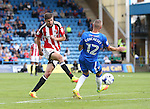 Sheffield United's Chris Basham in action during the League One match at the Priestfield Stadium, Gillingham. Picture date: September 4th, 2016. Pic David Klein/Sportimage