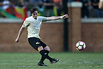 10 September 2016: Wake Forest's Hunter Bandy. The Wake Forest University Demon Deacons hosted the University of Virginia Cavaliers in a 2016 NCAA Division I Men's Soccer match. Wake Forest won the game 1-0 in sudden death overtime.