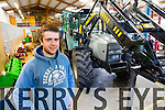 Eoin DOran a student in the Discover ITT programme to develop new businesses, Eoin's project is a modulating trailer break system for tractors.