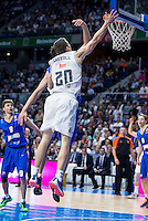 Real Madrid's Jaycee Carroll during Euroleague match at Barclaycard Center in Madrid. April 07, 2016. (ALTERPHOTOS/Borja B.Hojas) /NortePhoto