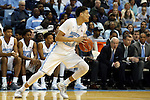 20 January 2016: North Carolina's Justin Jackson. The University of North Carolina Tar Heels hosted the Wake Forest University Demon Deacons at the Dean E. Smith Center in Chapel Hill, North Carolina in a 2015-16 NCAA Division I Men's Basketball game. UNC won the game 83-68.