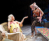 Grey Gardens<br /> Book by Doug Wright<br /> Music by Scott Frankel<br /> Lyrics by Michael Korie<br /> produced by Danielle Tarento<br /> at The Southwark Playhouse, London, Great Britain <br /> press photocall<br /> 7th January 2016 <br /> <br /> directed by Thom Southerland<br /> <br /> <br /> Sheila Hancock as Edith Bouvier Beale<br /> <br /> Jenna Russell as 'Little' Edie Beale<br /> <br /> <br /> <br /> Photograph by Elliott Franks <br /> Image licensed to Elliott Franks Photography Services