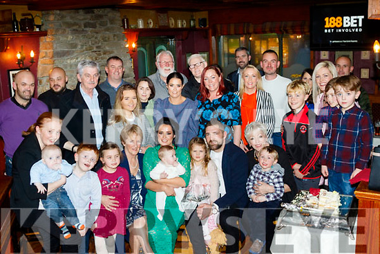 Laura&Mairtín Ferris from Ballyheigue, Christened their new baby Martin in the local church and celebrated after with family&friends in the White Sands hotel last Saturday evening.
