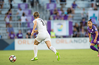 Orlando, FL - Saturday July 15, 2017: Becca Moros during a regular season National Women's Soccer League (NWSL) match between the Orlando Pride and FC Kansas City at Orlando City Stadium.