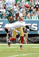 10/2/11..49ERS @ EAGLES..FINAL 49ERS 24 EAGLES 23