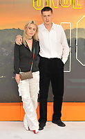 """LONDON, ENGLAND - JULY 30: Rose Gray and Harris Dickinson at the """"Once Upon A Time In ... Hollywood"""" UK film premiere, Odeon Luxe Leicester Square, Leicester Square, on Tuesday 30 July 2019 in London, England, UK.<br /> CAP/CAN<br /> ©CAN/Capital Pictures"""