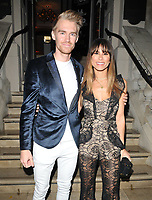Oliver Webb and Naila Nazer at the GQ Car Awards 2019, Corinthia Hotel, Whitehall Place, London, England, UK, on Monday 04th February 2019.<br /> CAP/CAN<br /> ©CAN/Capital Pictures