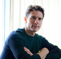 Actor Tom Cruise is shown at 1000 hotel in Seattle Wednesday, Nov. 5, 2008. (Photo by Andy Rogers)
