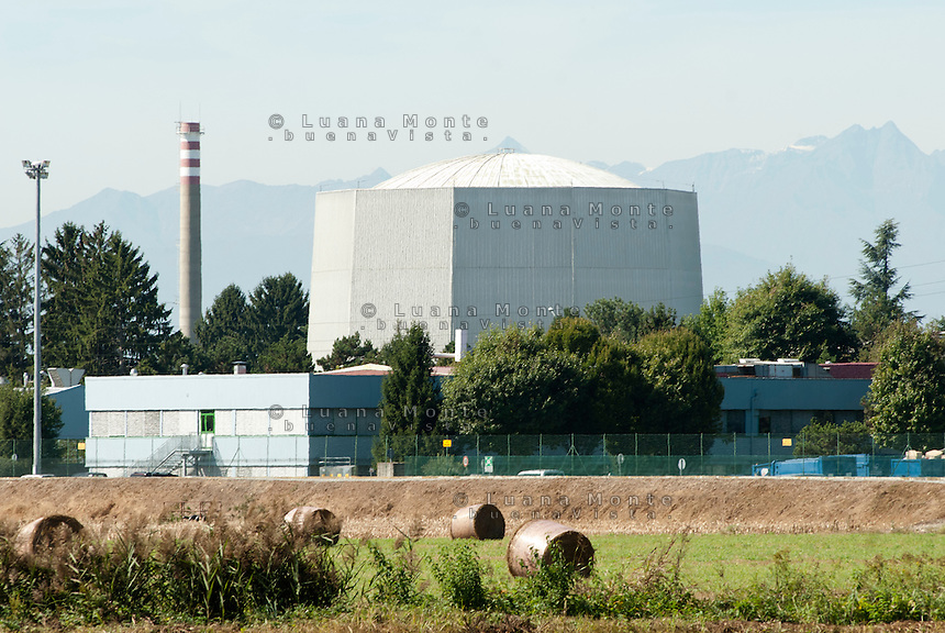 """Deposito di scorie radiottive """"Avogadro"""". Saluggia (Vercelli), 21 settembre 2011...""""Avogadro"""" radioactive waste storage. Saluggia (Vercelli), September 21, 2011"""