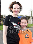 Hannah and Anne Devitt who took part in the St. Colmcilles 10K run. Photo:Colin Bell/pressphotos.ie