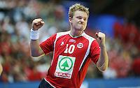 Drammen, 20080117. Handball-EM, Danmark-Norge. H??vard Tvedten scoret 8 m??l. Foto: Eirik Helland Urke / Dagbladet.no