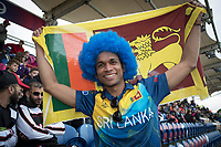 Despite the rain, and the scoreline, the fans remained in great spirits during Afghanistan vs Sri Lanka, ICC World Cup Cricket at Sophia Gardens Cardiff on 4th June 2019