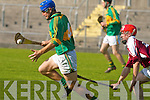 Causeway's Cormac Connor and Lixnaw's Michael Quilter..   Copyright Kerry's Eye 2008