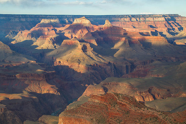 Afternoon along the South Rim of Grand Canyon National Park, Arizona. .  John offers private photo tours in Grand Canyon National Park and throughout Arizona, Utah and Colorado. Year-round.
