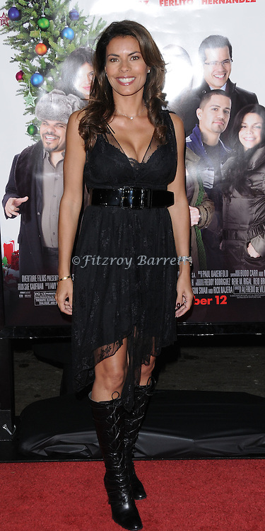 Lisa Vidal arriving at the premiere of Nothing Like The Holidays, at Grauman's  Chinese Theater Hollywood, Ca. December 3, 2008. Fitzroy Barrett