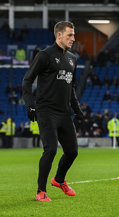Burnley's Chris Wood <br /> <br /> Photographer David Horton/CameraSport<br /> <br /> The Premier League - Brighton and Hove Albion v Burnley - Saturday 9th February 2019 - The Amex Stadium - Brighton<br /> <br /> World Copyright &copy; 2019 CameraSport. All rights reserved. 43 Linden Ave. Countesthorpe. Leicester. England. LE8 5PG - Tel: +44 (0) 116 277 4147 - admin@camerasport.com - www.camerasport.com