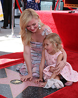 LOS ANGELES - AUG 29:  Kirsten Dunst, goddaughter at the Kirsten Dunst Star Ceremony on the Hollywood Walk of Fame on August 29, 2019 in Los Angeles, CA